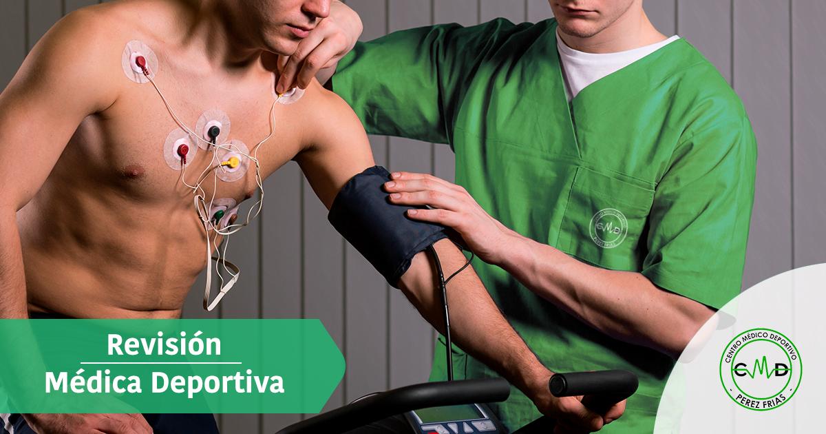 Revisión médica deportiva