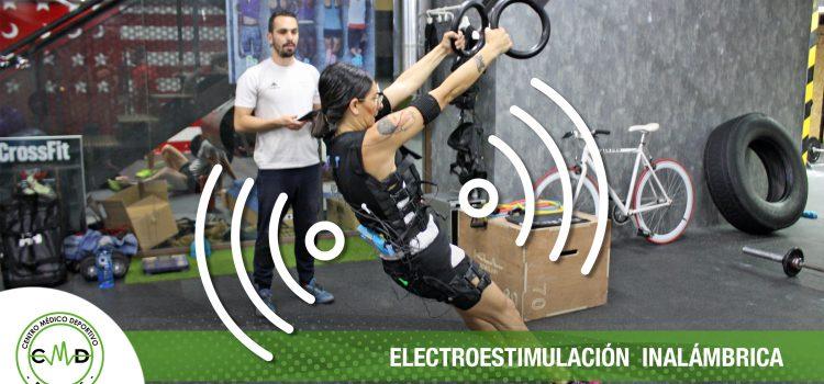 Electroestimulación inalámbrica con equipos WiemsPro
