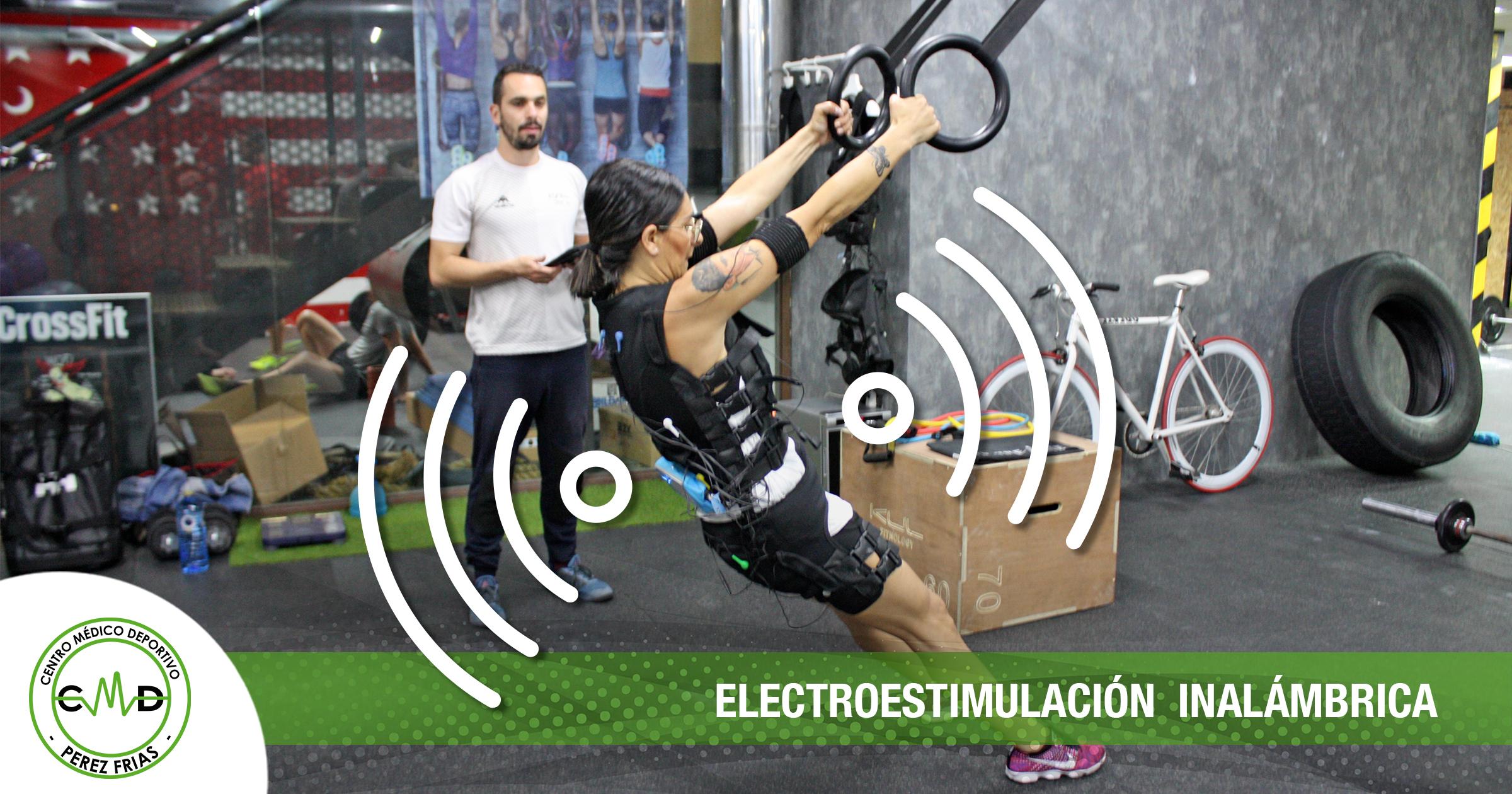 electroestimulación inalámbrica