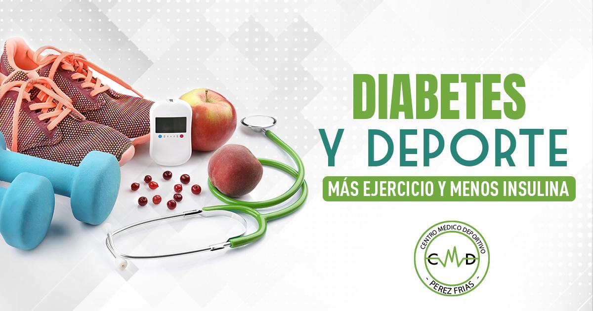 Diabetes y deporte para sus efectos